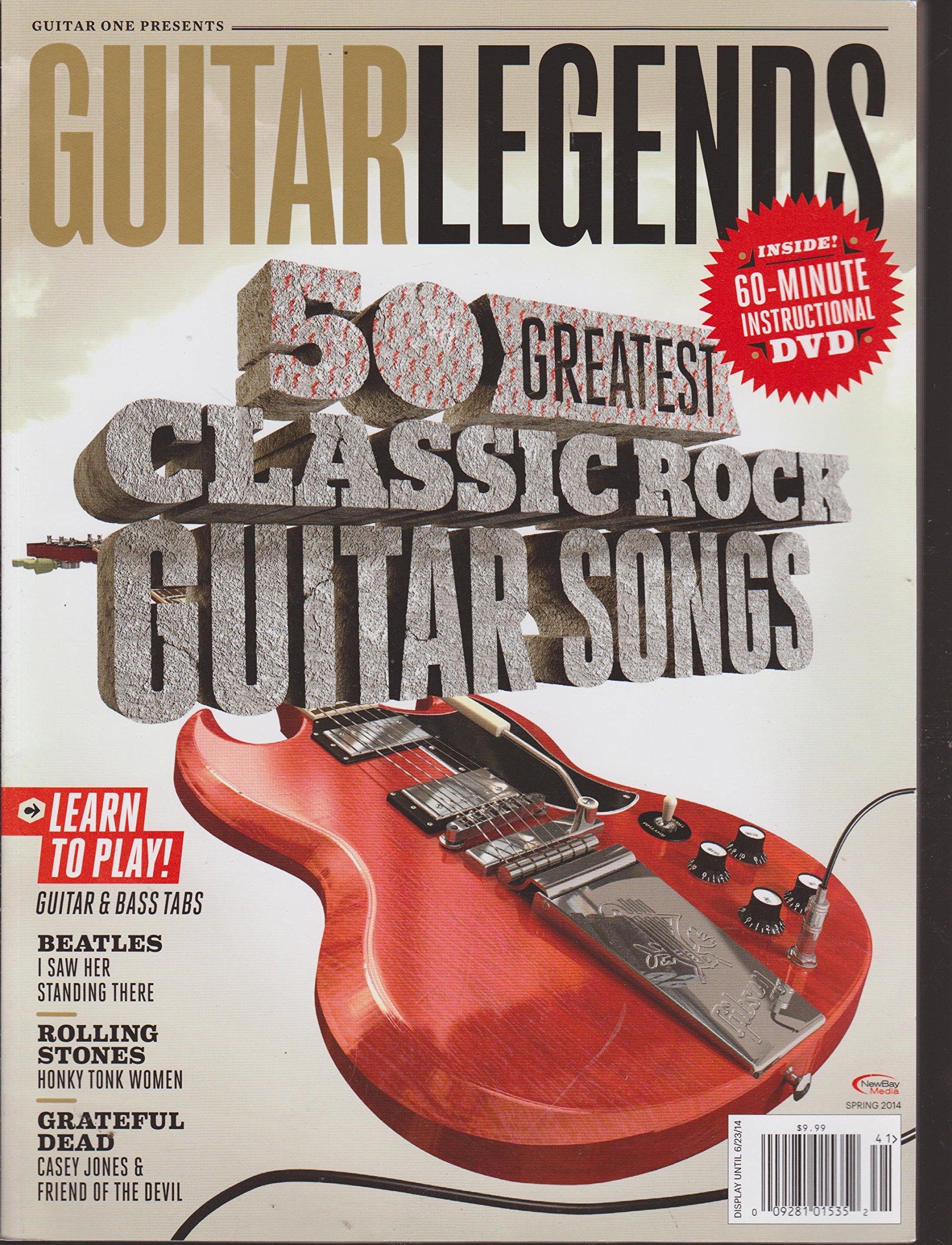 Guitar One Presents Guitar Legends 50 Greatest Classic Rock