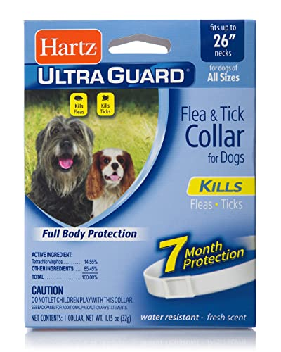 Hartz UltraGuard Flea & Tick Collar for Dogs and Puppies Review