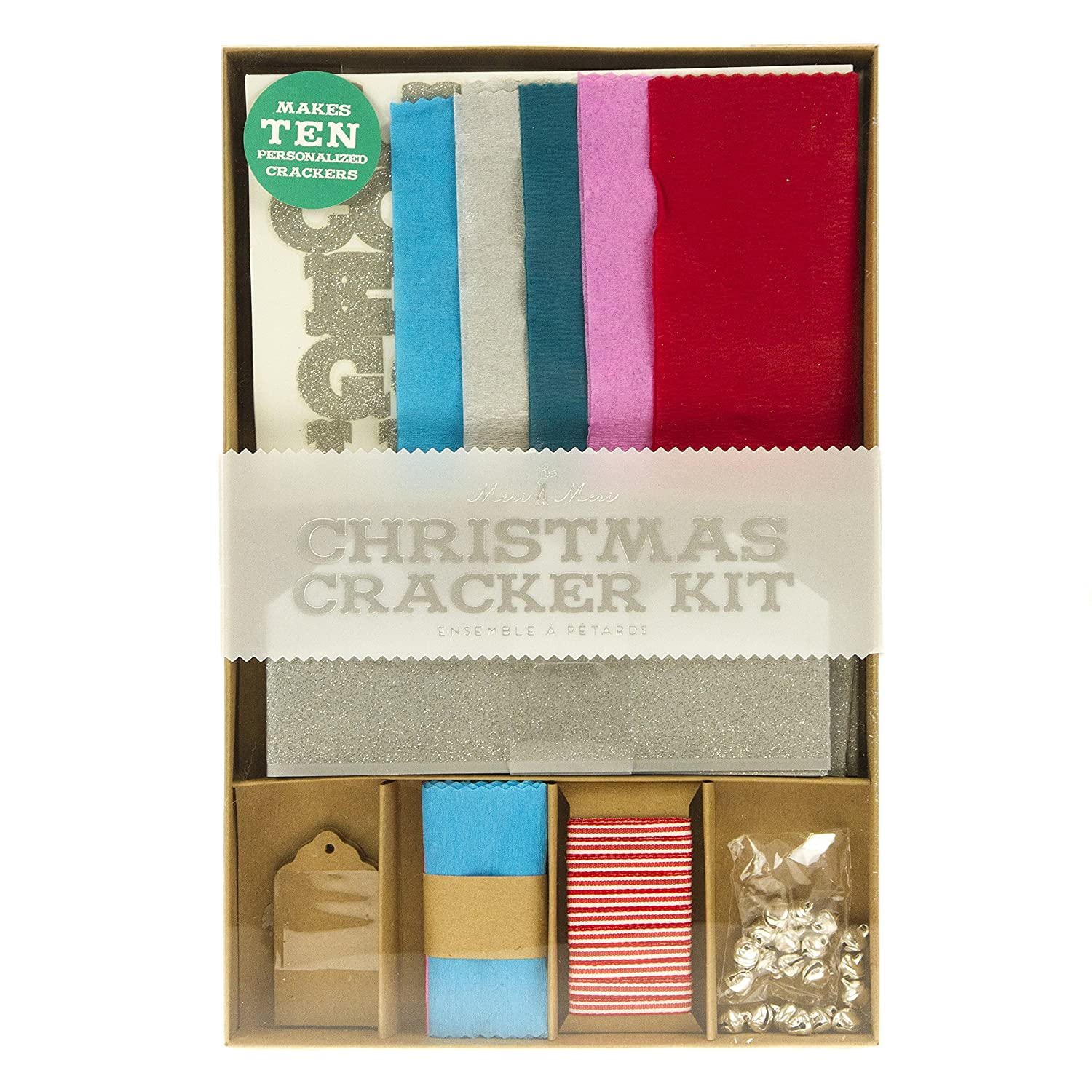 Christmas crepe paper make your own crackers each amazon christmas crepe paper make your own crackers each amazon kitchen home solutioingenieria Images