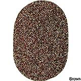 Sabrina Tweed Indoor/Outdoor Oval Braided Rug, 10