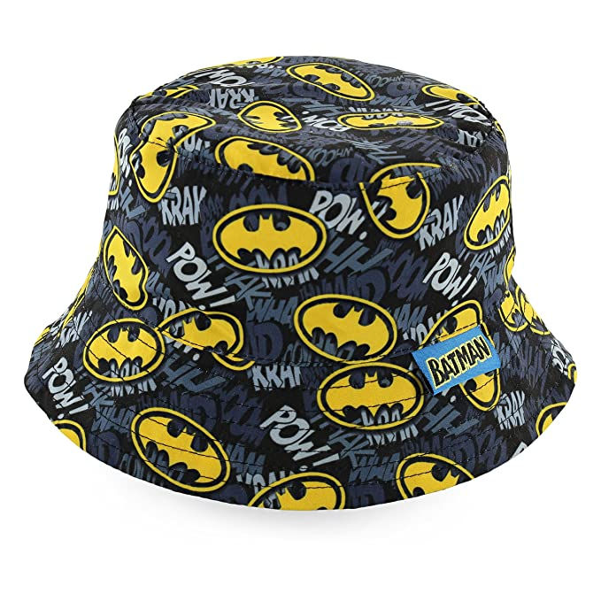 Amazon.com  DC Comics Boys Infant Batman Bucket Hat  6014   Clothing 808b4c11596