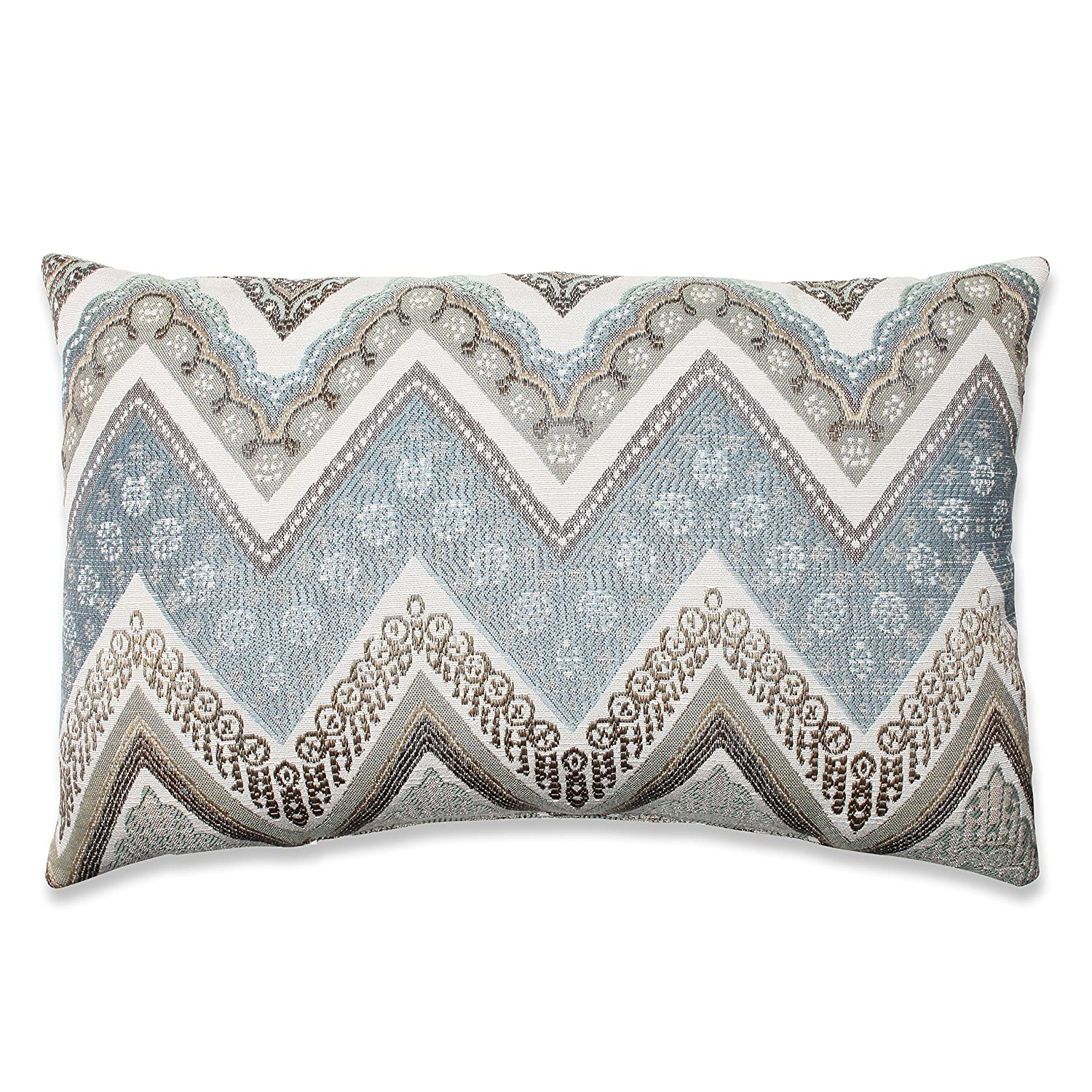 Pillow Perfect Cottage Throw Pillow, 16.5-Inch, Mineral Inc. 573298