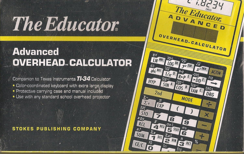 The Educator高度なオーバーヘッド計算機( ti-34 Companion )   B001TI21SG