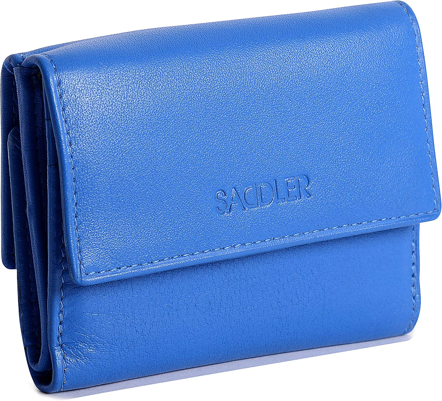 SADDLER Womens Luxurious Leather Mini Purse Wallet | Designer Purse | Gift Boxed