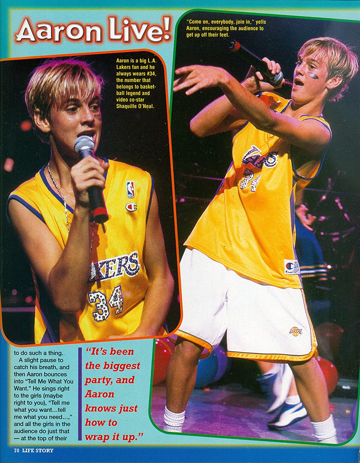 Amazon Aaron Carter