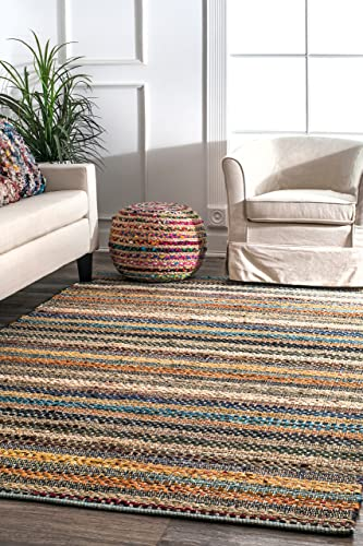 nuLOOM Erasmo Stripes Area Rug