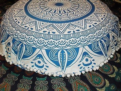 Traditional Jaipur Funda para cojines de suelo grande, Ombre ...