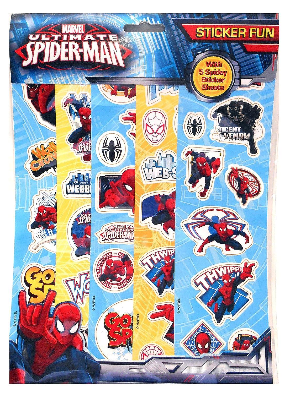 Anker Spiderman Fun adhesivo, plástico ANKSPSFN