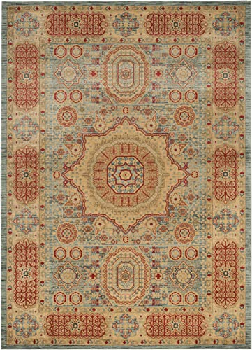Safavieh Mahal Collection MAH622C Traditional Oriental Non-Shedding Stain Resistant Living Room Bedroom Area Rug