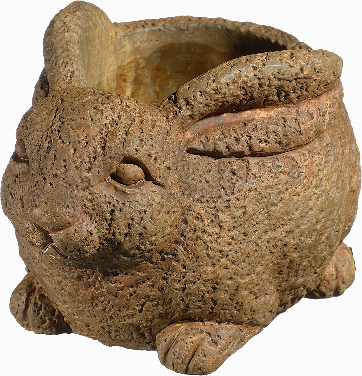 Classic Home and Garden 9/3442R/1 Rabbit Planter, Large, Rust
