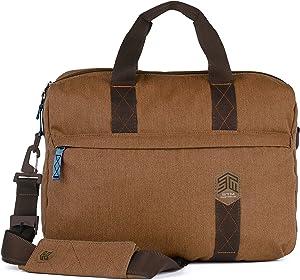 STM Judge Brief for Laptop & Tablet Up to 15-Inch - Desert Brown (stm-112-147P-10)