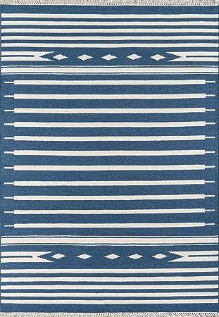 Erin Gates by Momeni Thompson Appleton Sage Hand Woven Wool Runner 23 X 8