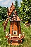 Große Windmühle,Windmühlen imprägniert u. kugelgelagert
