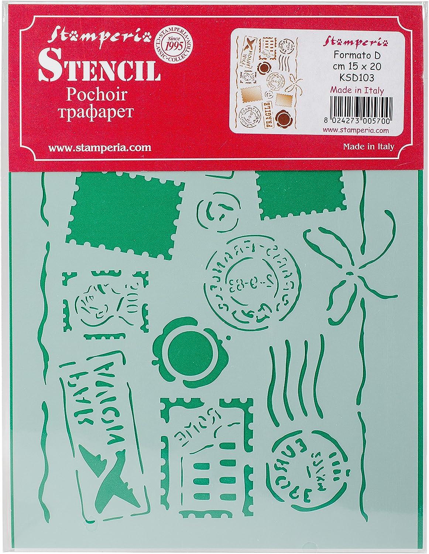 Stamperia Intl by Air Stamperia Stencil D 7.87X5.91