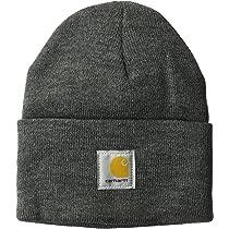 5baead0794f Amazon.com  Carhartt Men s Woodsman Acrylic Watch Hat