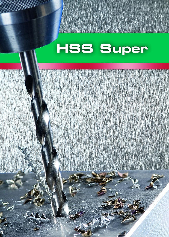 2 Piece Alpen 18100600100 6,0mm HSS-Super Jobber Drills