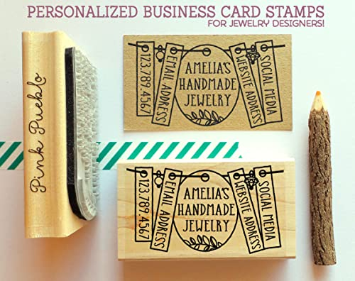 Amazon Personalized Business Card Stamp Business Card Rubber