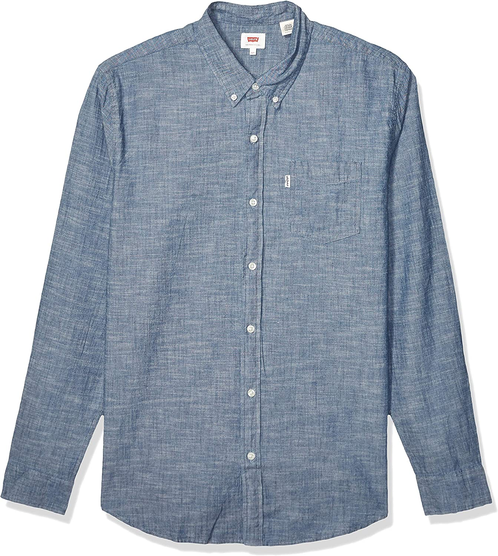 Levis - Camisa occidental para hombre, talla grande y alta, clásica, talla grande: Amazon.es: Ropa y accesorios