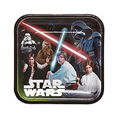 American Greetings Star Wars Paper Dinner Plates, 8-Count: Toys & Games