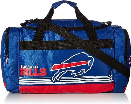 Detroit Lions Medium Striped Core Duffle Bag
