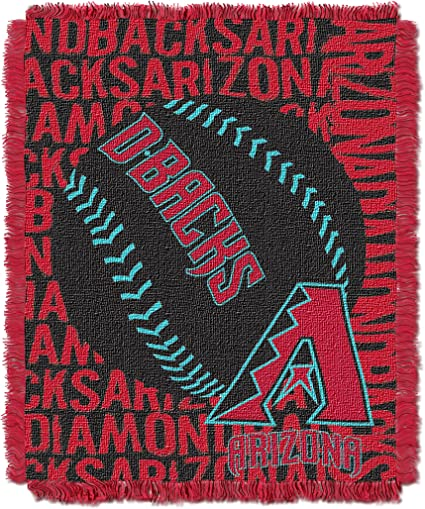 48 x 60 Officially Licensed MLB Home Field Advantage Woven Tapestry Throw Blanket Washable Soft /& Cozy Throws /& Bedding