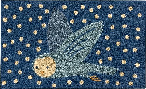 Now Designs Doormat, Snow Much Fun Owl