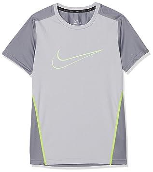 ec77aca097c7e Nike - 892514 -012 - T-Shirt - Garçon - Noir - Taille  XL  Amazon.fr ...
