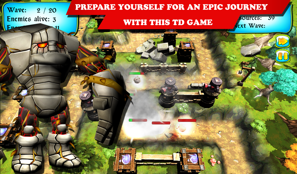 League of Creatures TD : Tower defense game