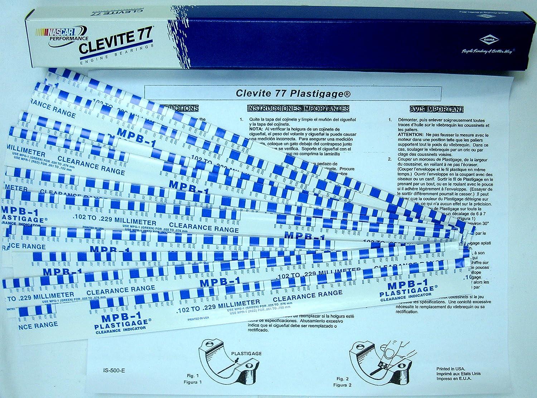 New Professional Clevite Plastigauge 12 Sticks Blue Plasti Gauge Switzerland