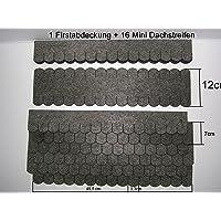 Mini techo de tejas (33 mm), conjunto en