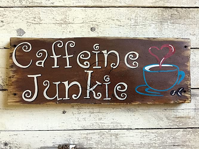 Amazon Coffee Lover Kitchen Quote Rustic Wood Wall Hanging Beauteous Wooden Decorative Signs With Sayings