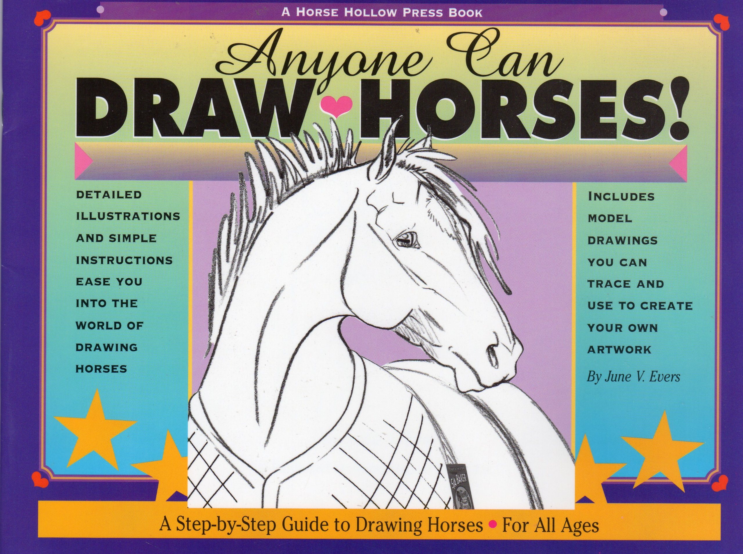 Read Online Anyone Can Draw Horses!: A Step-by-Step Guide to Drawing Horses for All Ages pdf