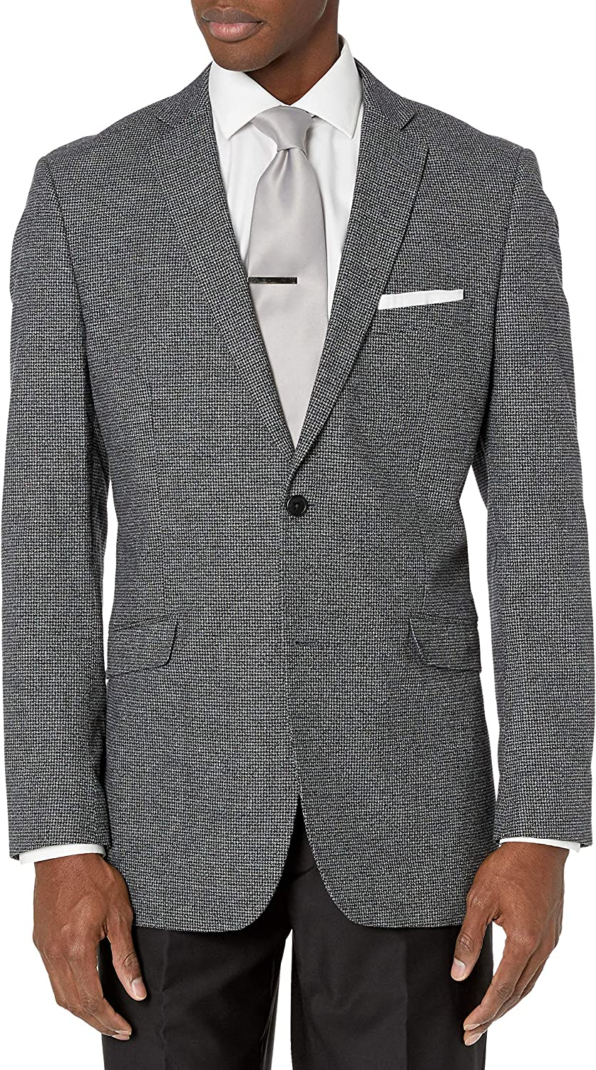U.S. Polo Assn. Men's Cotton Sport Coat, Gray, 40 Regular