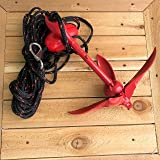 Complete XL Grapnel Anchor System