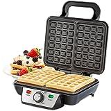 Andrew James Belgian Waffle Maker, 2 Slice, 1000 Watts
