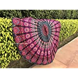 raajsee Tapestry Mandala, Hippie Bohemian Bedding Home Decor Psychedelic Indian Ethnic Traditional Bedspread Table Cloth…