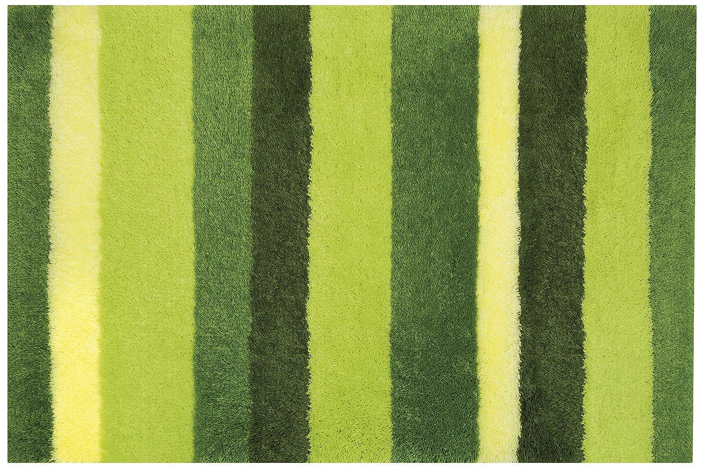 Spirella 10.16977 Badteppich Lineato 70 x 120 cm, grün