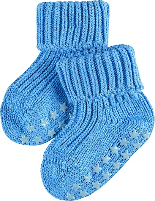 ideal lounge sock plush sole Skin friendly 1 Pair FALKE Baby Catspads Cotton Socks Multiple Colours reinforced stress zones for optimum durability non-slip Sizes 1-18 months 96/% Cotton