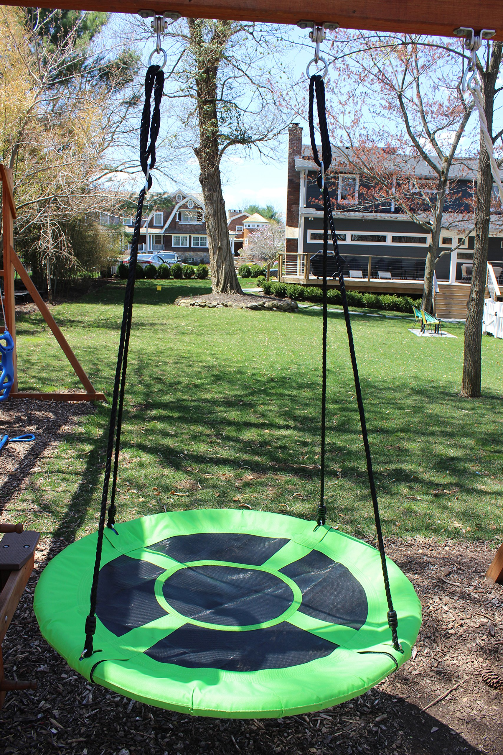 swings swinging monkey products giant 40quot saucer spinner swing