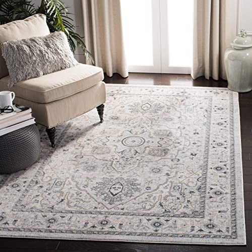 Safavieh Isabella Collection ISA936G Area Rug, 9 x 12 , Light Grey Grey
