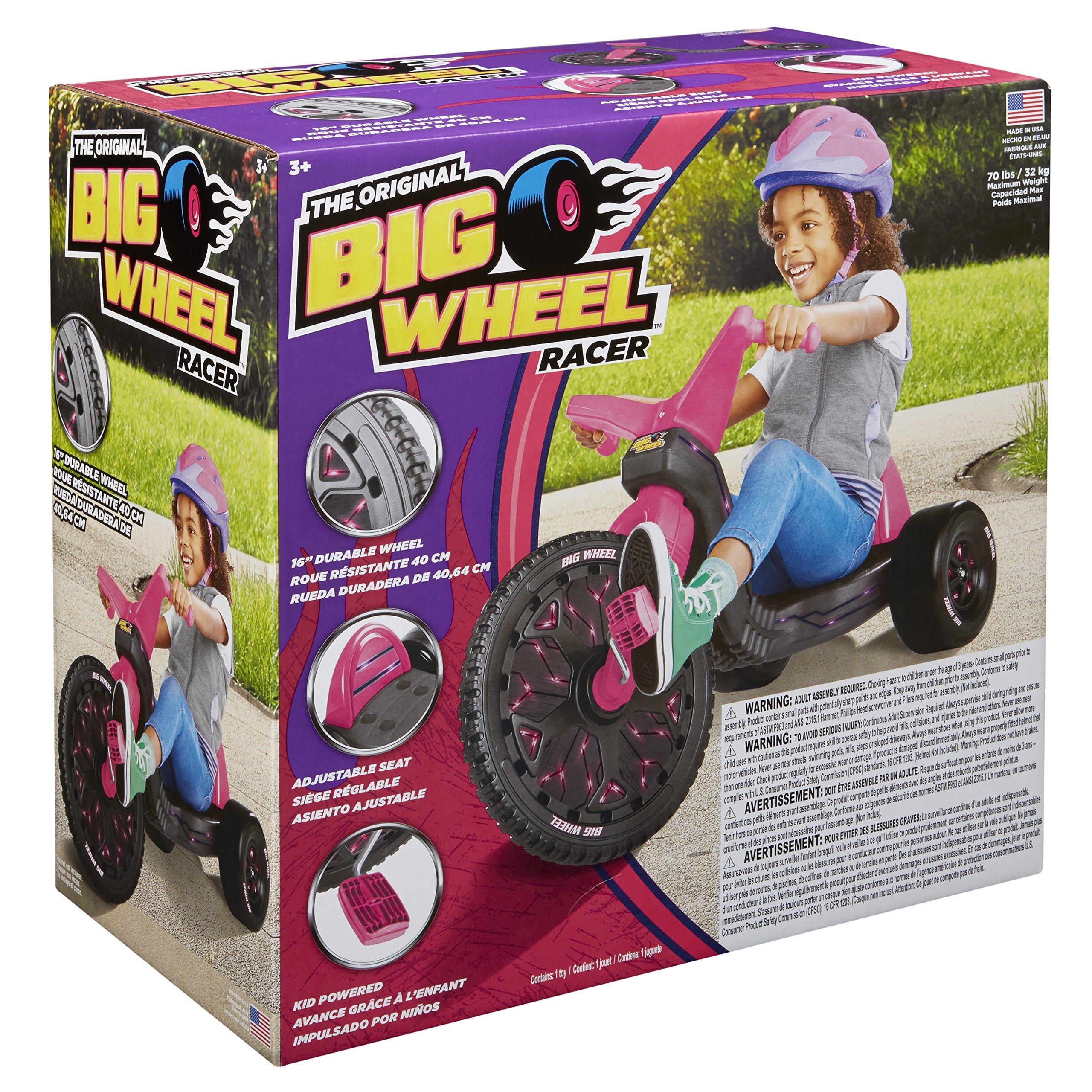 Big Wheel 16in, Pink, 13.5-Pound by Big Wheel