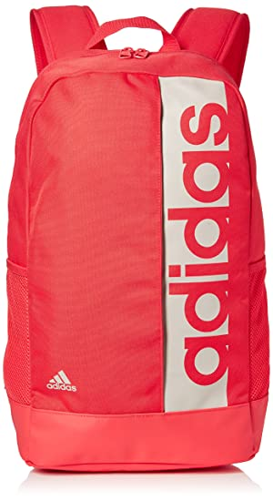 427c271f7d1 adidas Linear Performance Backpack - Real Coral/Chalk Pearl/Chalk Pearl,  One Size