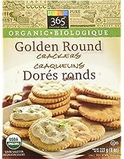 365 Everyday Value Organic Golden Round Crackers, 8 oz