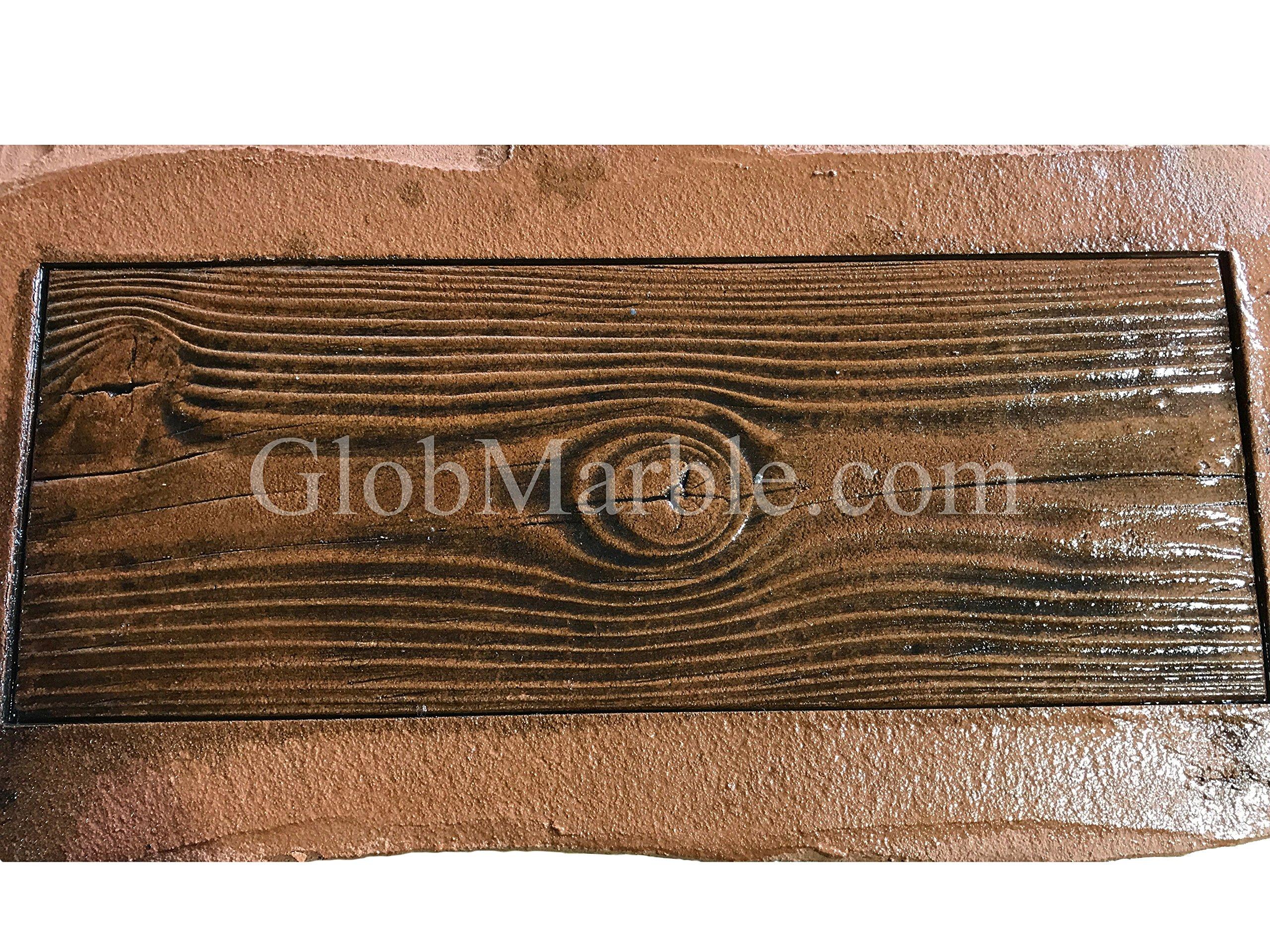 Wood Plank Concrete Stamp Set. Wood texture Stamp Mat SM 5000 S. 5 pieces Woodgrain