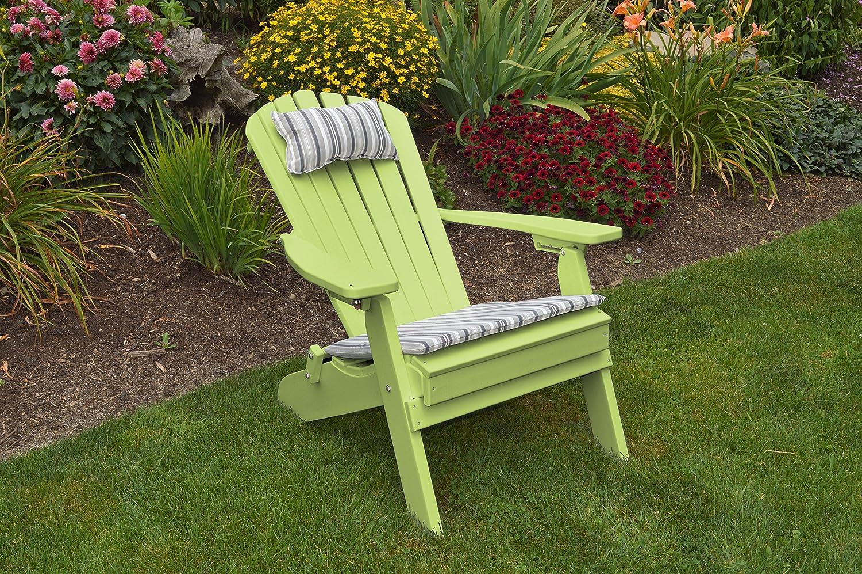 Amazon.com: Mejor Poly Madera Plegable reclinable silla ...
