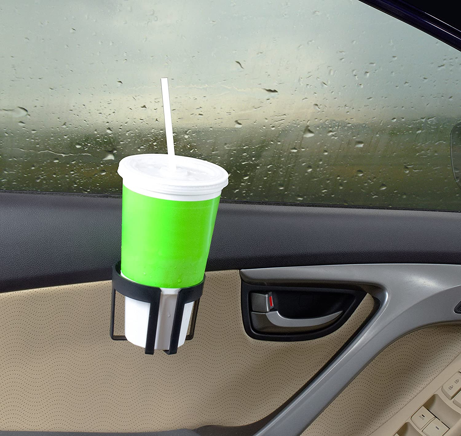 Easy Fit Car Driving Drink Holder Can Water Clip On To Door Panel For Mini