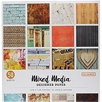 """ColorBok 73470B Designer Paper Pad Mixed Media, 12"""" x 12"""""""