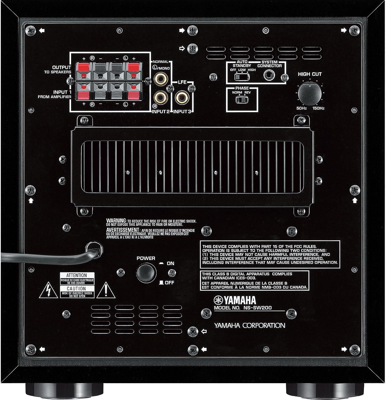 Neuer subwoofer an alten receiver anschlie en anschlie en for Yamaha ysp 5600 amazon