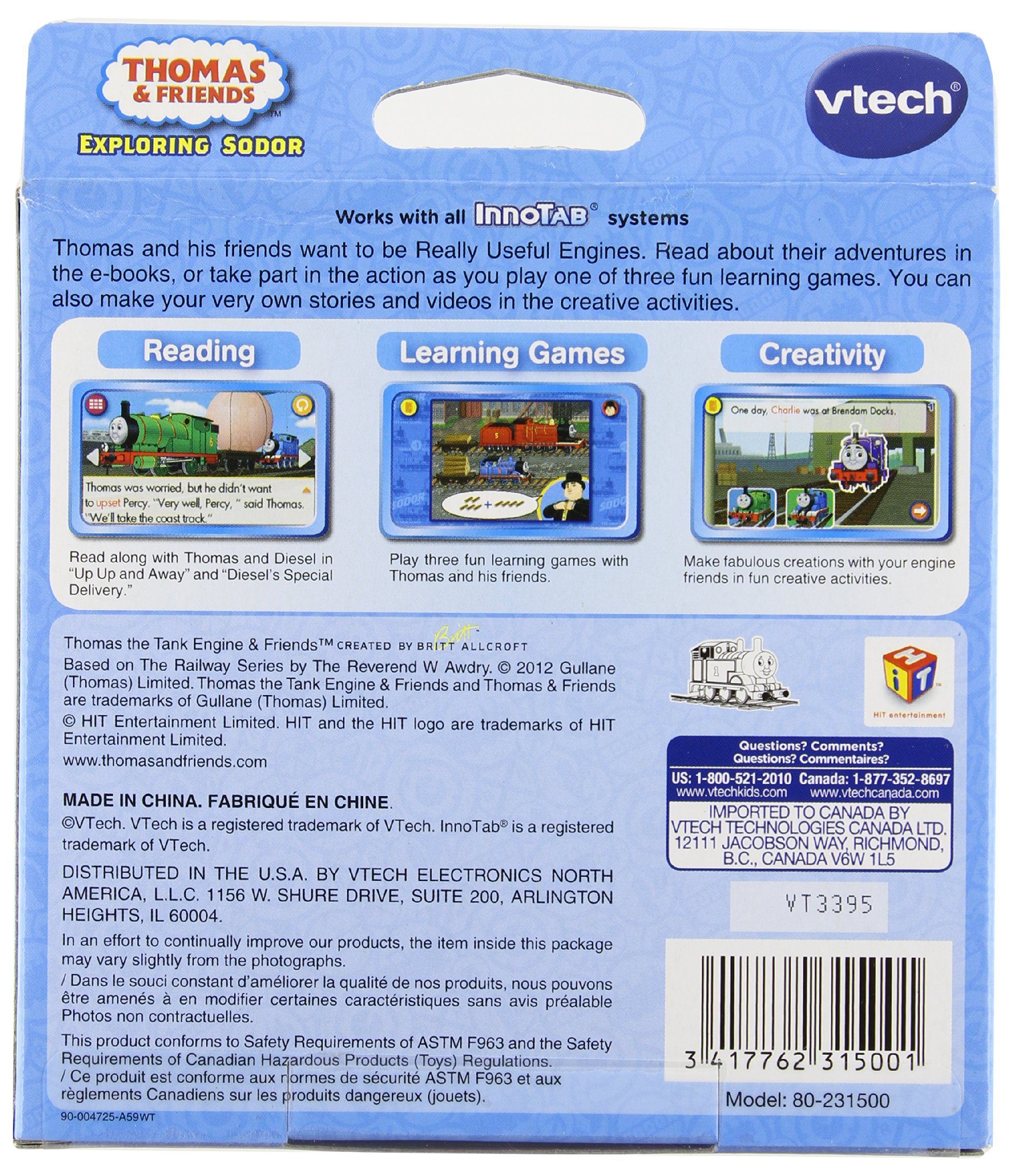 VTech InnoTab Software - Thomas & Friends by VTech (Image #2)