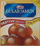 Gits Instant Gulab Jamun Dessert Mix, 200g with Free 100g